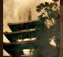 Pagoda by Heather Reid