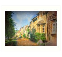 A Stroll Through Oxford - Oxfordshire, England Art Print
