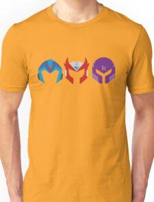 Mega Man X Helemt Trio Unisex T-Shirt