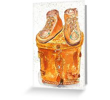 Bronzed Buster Browns Greeting Card