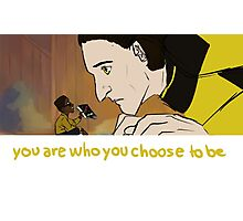 You Are Who You Choose To Be (Geordi and Data) Photographic Print