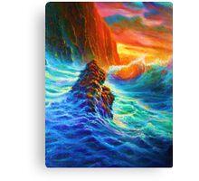 Napali Coast Sunset,Kauai Canvas Print
