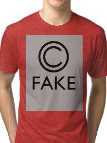 """Fake Copyright"" Tri-blend T-Shirt"