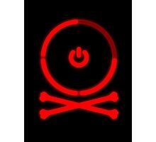 Red Ring of Death Photographic Print