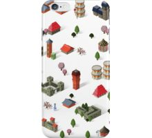 Japanese Houses iPhone Case/Skin