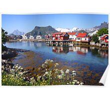 Lofoten Islands Poster