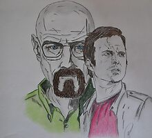 Breaking Bad's Walter White & Jesse Pinkman by Theisenberg