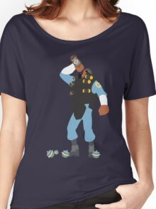TF2 - Demo / BLU Team Women's Relaxed Fit T-Shirt