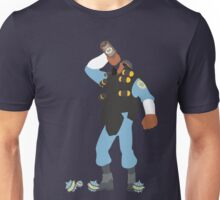TF2 - Demo / BLU Team Unisex T-Shirt