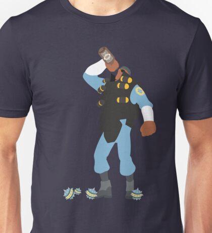 TF2 - Demo / BLU Team Unisex T-Shirt