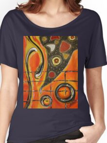 The Fires Of Charged Emotions.. Women's Relaxed Fit T-Shirt