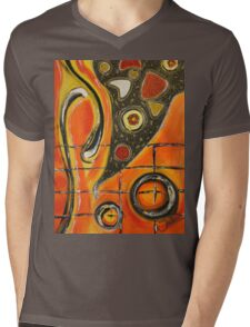 The Fires Of Charged Emotions.. Mens V-Neck T-Shirt