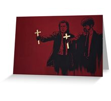 Crossing Fiction Greeting Card