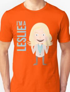 i'm a leslie Unisex T-Shirt