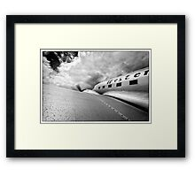 Western Airlines Framed Print