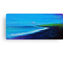Kawi Lava Flow, N. Kona Canvas Print