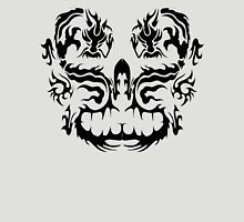 Two Dragons - Black Image Unisex T-Shirt