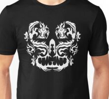 Two Dragons - White image Unisex T-Shirt