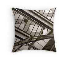 Domes within Domes Throw Pillow