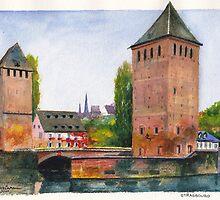 Strasbourg Towers by Dai Wynn