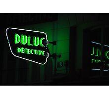 Paris - Duluc Detective Photographic Print