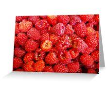 Raspberrylicious! Greeting Card