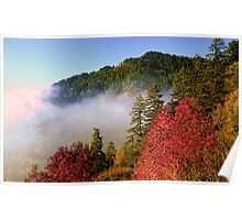 CLEARING AUTUMN STORM Poster