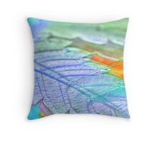 Leaf in High Def Throw Pillow