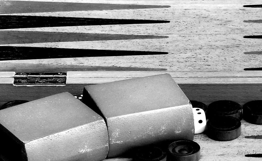 Backgammon by Janie. D