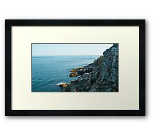 Ocean Cliffs – Acadia National Park, Maine Framed Print