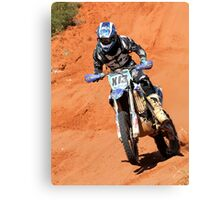 Bike X13 - Finke 2011 Day 2 Canvas Print