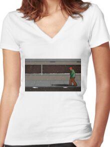 Holden Women's Fitted V-Neck T-Shirt