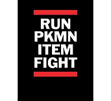 RUN PKMN Photographic Print