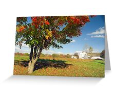 Connecticut Autumn Greeting Card