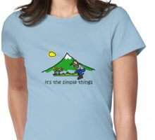 Wildflower Photography - Simple Things Womens Fitted T-Shirt