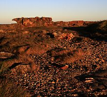 Rock Formation - Culburra Beach by Noel Elliot