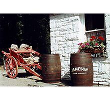 Wetting your whistle - Bunratty, Ireland. Photographic Print