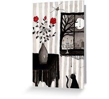 scene in watercolours Greeting Card