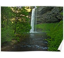 Silver Falls State Park... South Falls Poster
