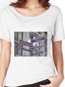 Oxford Circus Sign Post Women's Relaxed Fit T-Shirt