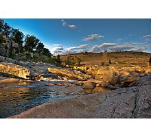 Adelong Falls Photographic Print