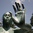 Green Statue by Michelle Callahan
