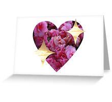 sparkly heart emoji Greeting Card