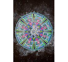 Mandala : Full Moon Eclipse Photographic Print