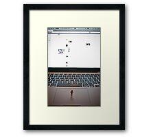 Overwelming Computer  Framed Print