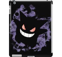 Gengar (Smoke cutout) iPad Case/Skin