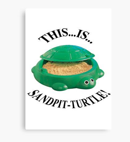 Bring Me The Horizon Sandpit Turtle Canvas Print
