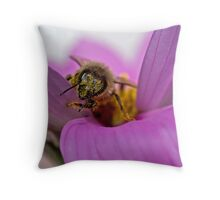 Pollen-ated Throw Pillow