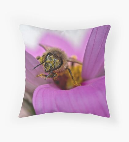Pollen-ated Throw Pillow