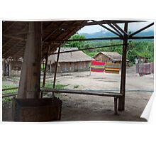 Long Neck Karen Village, Chiangrai Poster